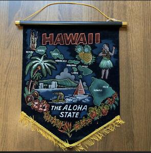 Vintage Hawaii The Aloha State Banner