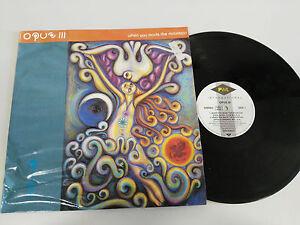 OPUS-III-WHEN-YOU-MADE-THE-MOUNTAIN-LP-VINILO-VINYL-12-034-1994-PWL-G-VG