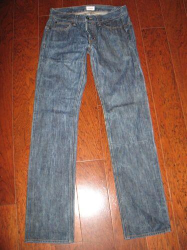 droit 33 Jeans tout 100 Mens Sz 30 coton droit Phantom Hudson X délavage pCqU1OO