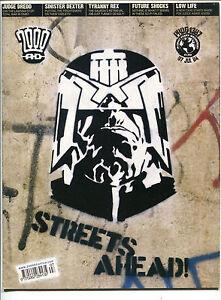 2000AD-2000-AD-Prog-1397-July-7-2004-VF-Judge-Dredd-John-Wagner-Graffiti-Stencil