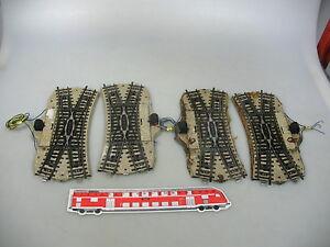 Ah613-2-4x-Marklin-Marklin-h0-5128-bricoleur-DKW-croisement-souple-M-voie
