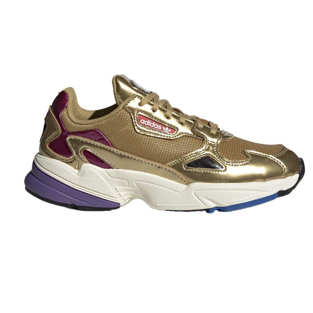 shoes adidas Falcon W gold Women