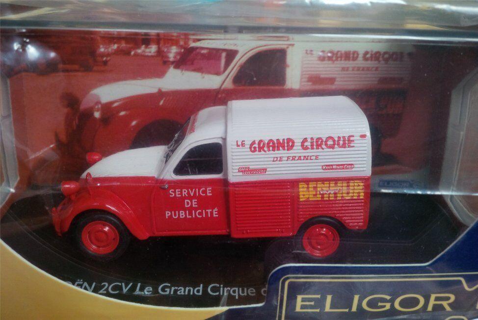 CITROEN 2CV AZU GRAND CIRQUE DE FRANCE SERVICE PUBLICITE BENHUR ELIGOR 2 CV 1 43