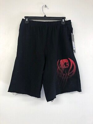NWT AND1 Boys French Terry Basketball Shorts Size Med M 8 Charcoal Gray NEW