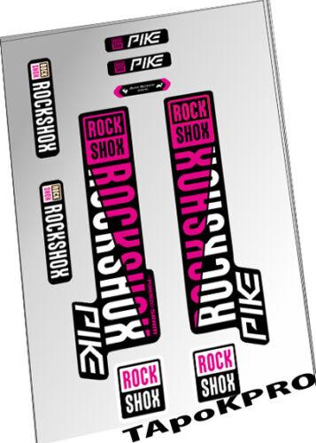 2018 New Custom RockShox Pike fork 27.5 glossy lamination stickers decals