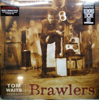 Tom Waits Brawlers Orphans 2 X Lp 180 Gram Red Vinyl
