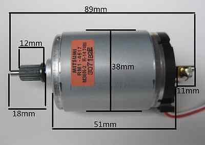 MITSUMI Permanent magnet DC 545 Motor Wind Generators/Hand/DIY