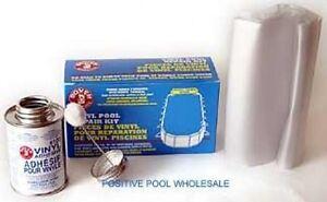 Boxer 4 Oz Swimming Pool Vinyl Liner Underwater Patch Kit
