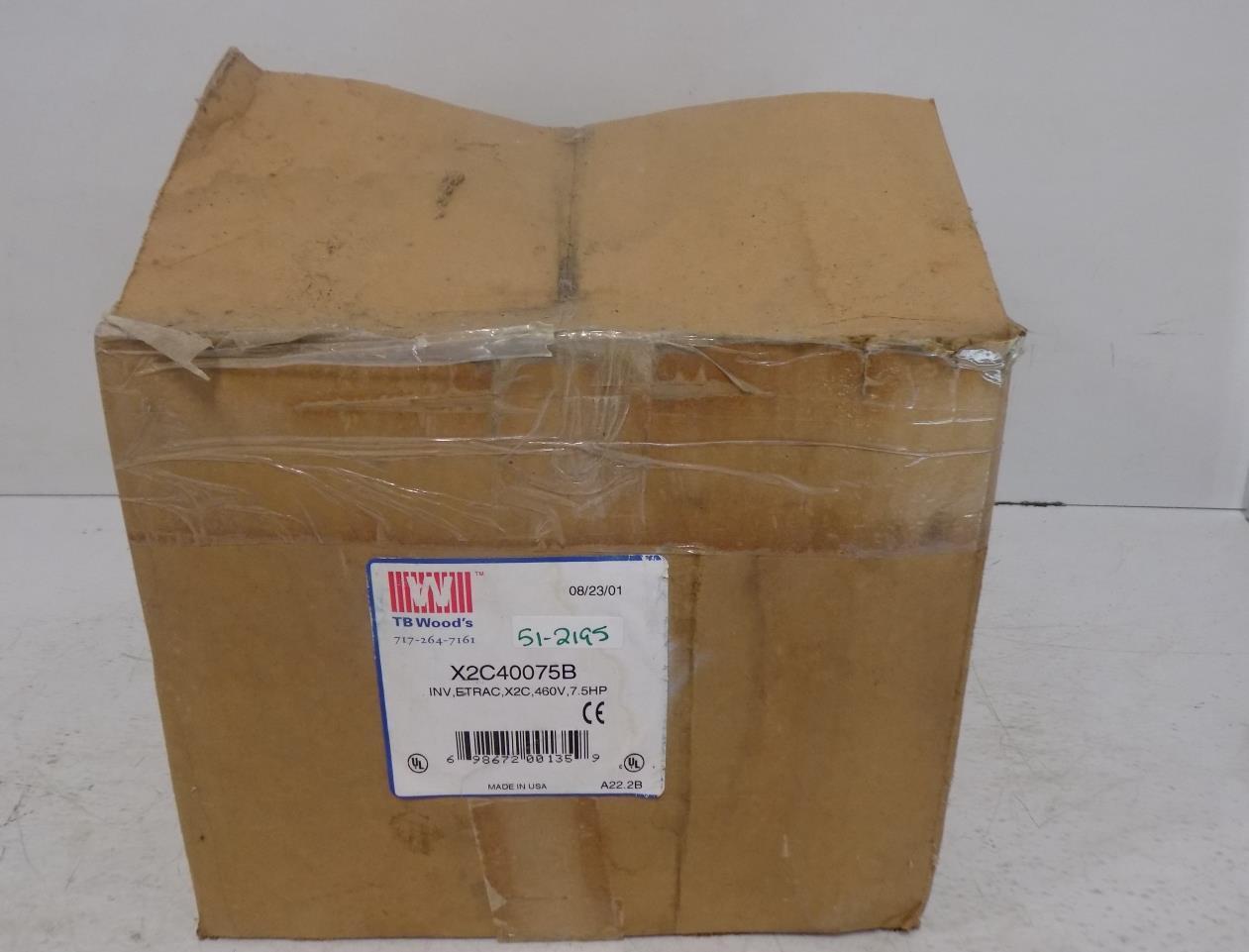 TB WOODS AC INgreenER X2C40075B