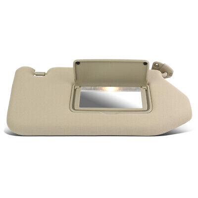 Beige OE Style Interior Left Driver Sun Visor Sunshade Replacement for Pathfinder//Infiniti 13-19
