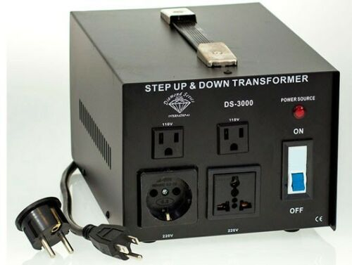 Diamond Series 3000 Watt Step Up Down Voltage Converter Transformer