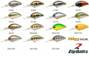 Zipbaits Hickory MDR 3,4cm 3,5g Fishing Lures Various Colors