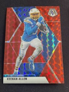 2020-Keenan-Allen-Red-SP-Hobby-Silver-Prizm-Mosaic-Los-Angeles-Chargers-112