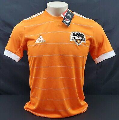 Adidas Houston Dynamo Home Jersey, Orange/White, Size S | eBay