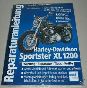 Reparaturanleitung-Harley-Davidson-Sportster-XL-1200-Wartung-Reparatur-Buch-NEU