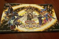 Yugioh Day Yugi Dark Magician Girl Dark Magician Playmat Near Mint Fast Shipping