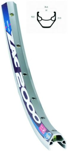 Radsport Fahrradteile & -komponenten RYDE Hinterrad 28Zoll Rigida ZAC 2000 silber 28Zoll Alu Schraubkranz 7/8fach Vol