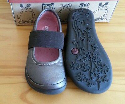 Zapatillas Camper derecho Chicas Bailarina 7 Reino Unido Niño EU 24 Nuevo