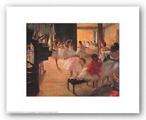 ART PRINT Ballet School by Edgar Degas