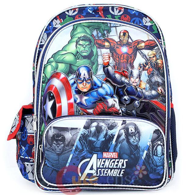1189831e4c Marvel Avengers Assemble Large School Backpack 16