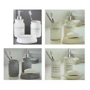 Image Is Loading 3 Piece Ceramic Bathroom Set Salle De Bain