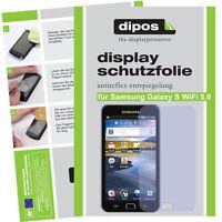 2x Samsung Galaxy S WiFi 5.0 Schutzfolie matt Displayschutzfolie Antireflex