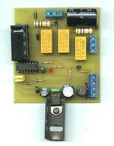 éNergique Module De Commande Automatique D'aiguillages En Alternance.