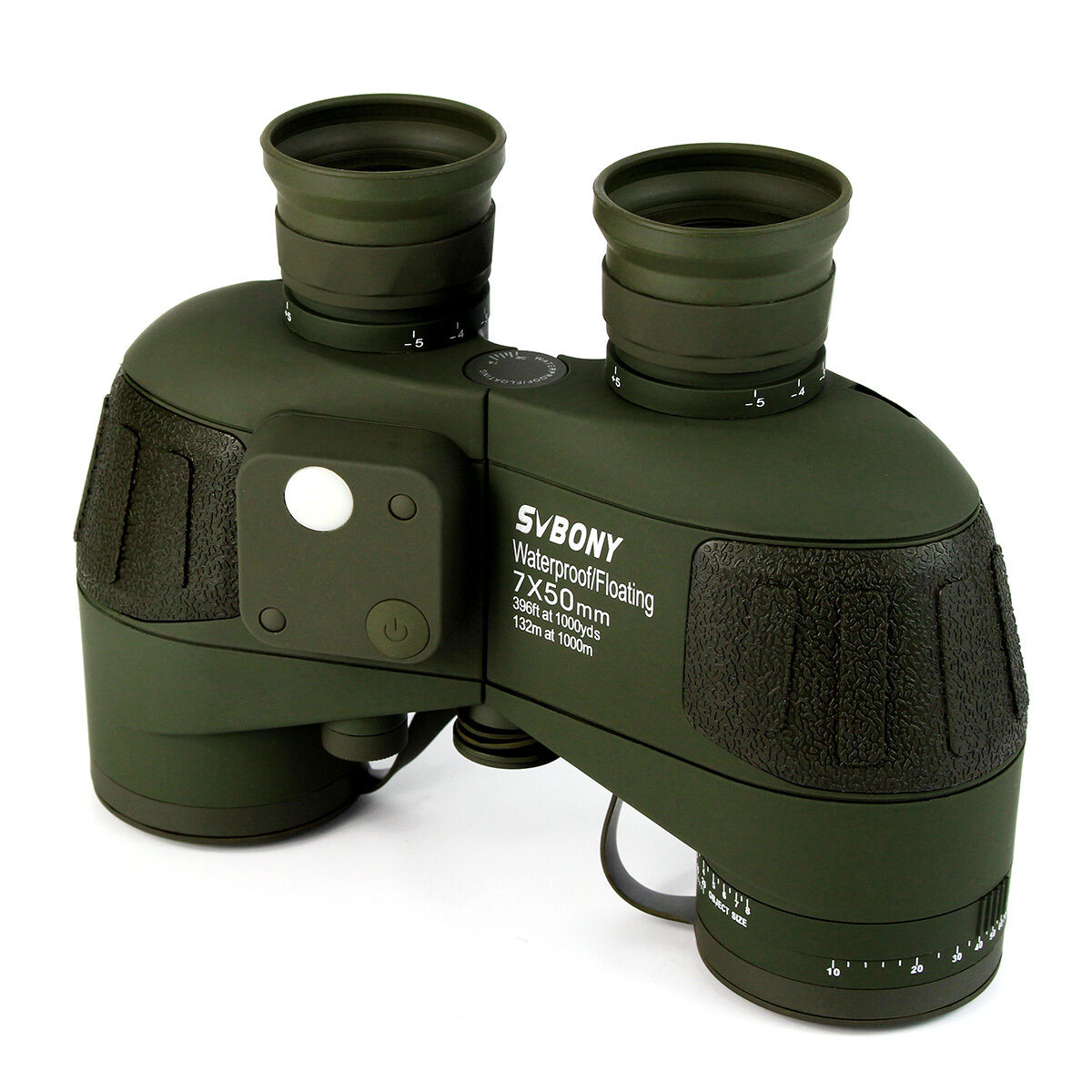 SV 7x50 Military Marine Waterproof Floating Marine Military Binoculars W/Rangefinder&Compass New 26bdec