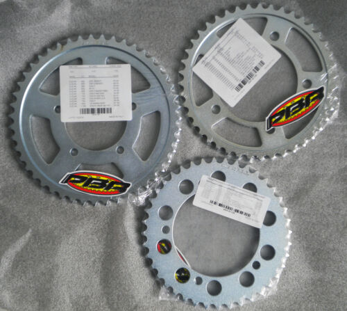 KAWASAKI ZX 6 R NINJA 2000 /> 2001 REAR SPROCKET PBR C45 STEEL PITCH 520 48 TEETH