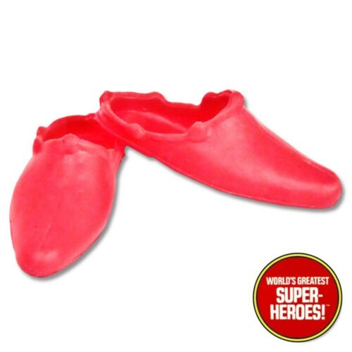 """Mego Supergirl Chaussures Reproduction pour 8/"""" Action Figure wgsh Custom parts lot"""