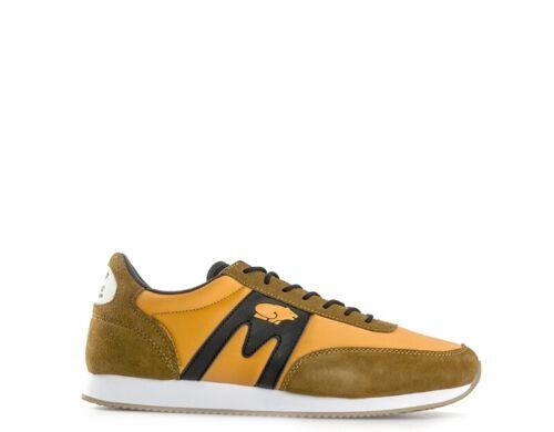 Shuhe KARHU Mann Sneakers ARANCIONE Ledereinsätze,Stoff,Wildleder  F802500