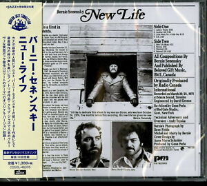BERNIE-SENENSKY-NEW-LIFE-JAPAN-CD-Ltd-Ed-C65