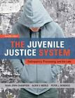 The Juvenile Justice System : Delinquency, Processing, and the Law by Peter J. Benekos, Alida V. Merlo and Dean J. Champion (2012, Hardcover, Revised)