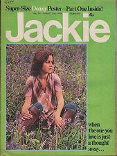 Jackie Magazine 11 August 1973 No.501   Donny Osmond   Gary Glitter  Linda Lewis