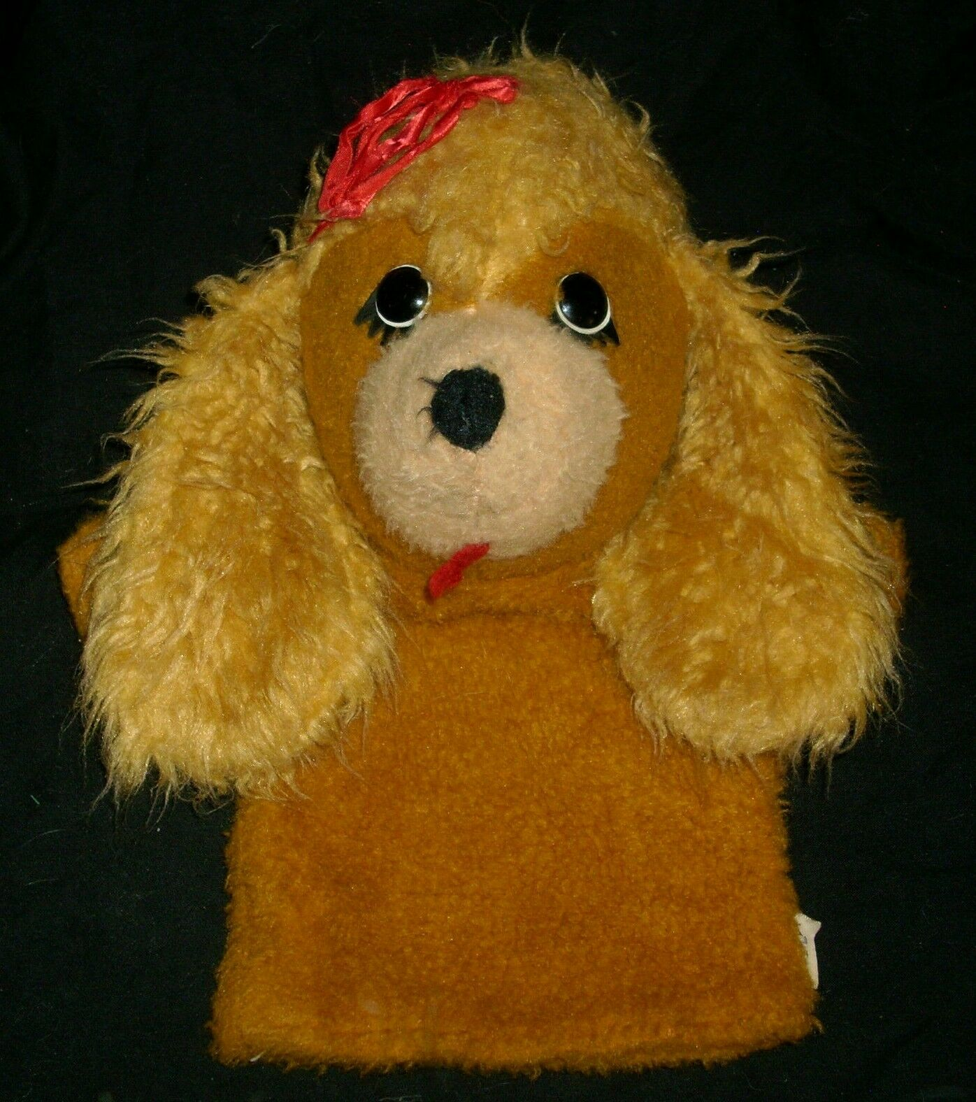 11  Vintage 1974 Clara Girls Animal-Fairy Hand Dollt Plush Stuffed Animal Toy