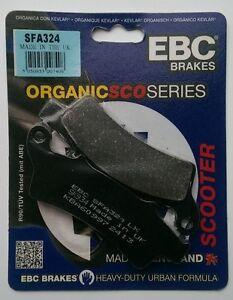 Aprilia-Scarabeo-300-2009-To-2012-EBC-Organic-Pastillas-de-Freno-Disco