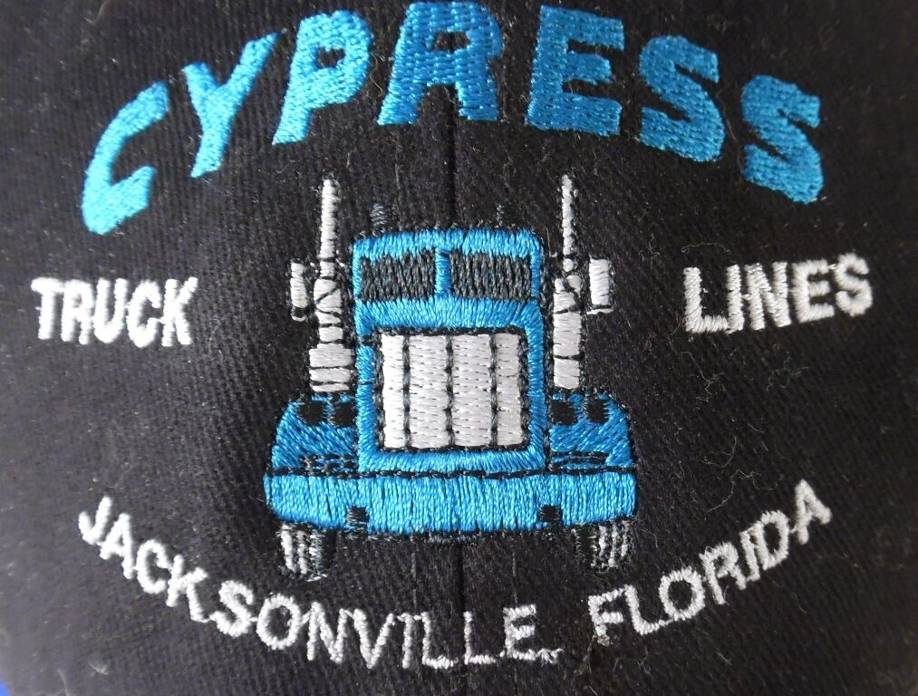 Cypress Truck Lines Lot Red of 4 Snapback Hats Camouflage Red Lot Blue Jacksonville FL 3dd3bf