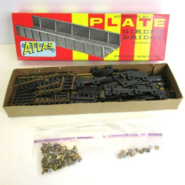 HO Scale Vintage Atlas Plate Girder Bridge With Built-In Track Original Box
