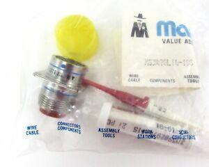 Matrix-MS3470L14-19S-Conector-Pared-Montaje-Militros-Spec-19POS-con-Contactos