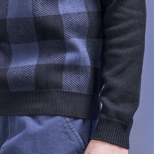 Ricco Girocollo Pullover Penn Maglia Di Woolrich quadri a Pattern girocollo di rw7Wx4qfr
