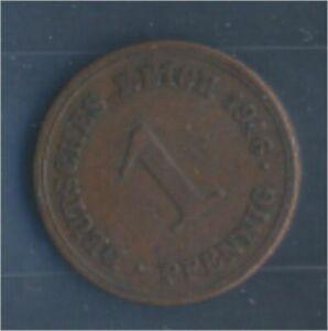 German-Empire-Jagerno-10-1916-e-very-fine-Bronze-1916-1-Pfennig-Eagle-7848981