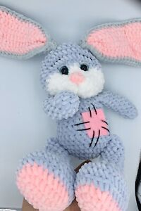 Hand-Knitted-Crochet-Toys-Gift-Personalised-Soft-Toys-Hand-Made-Bunny-Rabbit