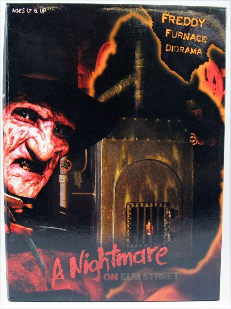FROTdy krueger A nightmare on elm street furnace la chaudiere Neca
