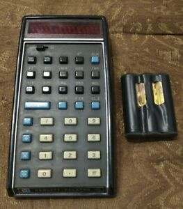 Classic HP Calculator HP-35 Working with Battery