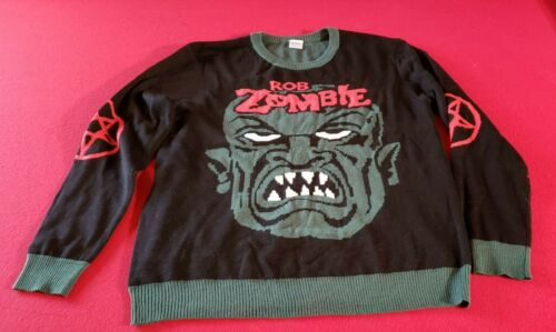 ROB ZOMBIE SWEATER LARGE SIZE