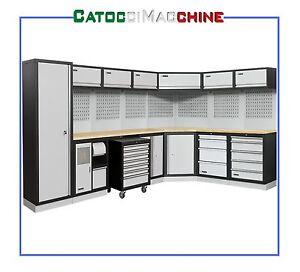 Arredamento modulare per officina garage e team racing for Arredamento per officina