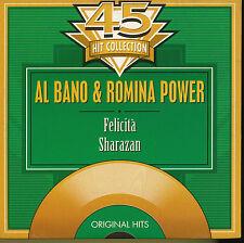 AL BANO ROMINA POWER CD SINGLE BELGIQUE FELICITA