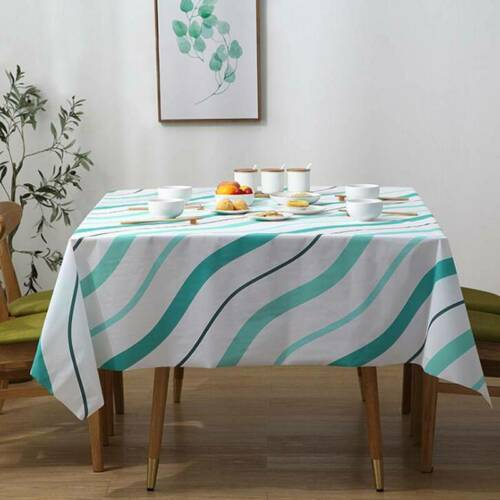 Tablecloth Waterproof Table Cover Protector For Kitchen Dining Table Cloth S