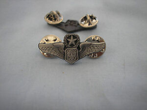 MILITARY-HAT-PIN-U-S-AIR-FORCE-MASTER-OFFICER-AIRCREW-WINGS