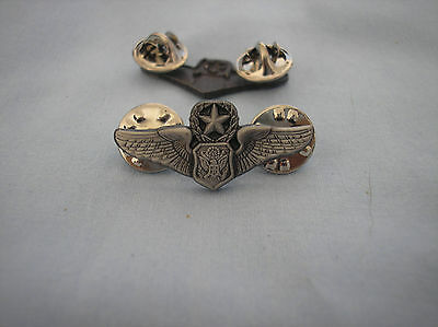 MILITARY HAT PIN - U.S.AIR FORCE MASTER OFFICER AIRCREW WINGS